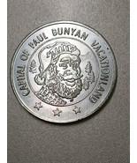Brainerd MN 1971 centennial token capital of Paul Bunyan Vacationland - $19.99
