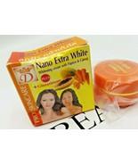 NANO EXTRA WHITE NATURAL PAPAYA & CARROT FACE CREAM 15g original - $9.90