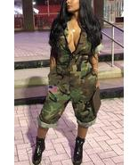 Euramerican Camouflage Printed One-piece Jumpsuit - $43.18+