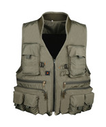 Fishing Vest  Waistcoat Jackets Army Green - $104.99