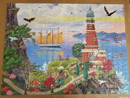 Big Ben Luxe [Lighthouse 2] Jigsaw Puzzle 500 Piece Missing One Piece - $5.93