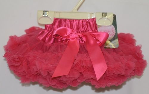 Ruffle Butts Candy Frilly Fluffy Chiffon Ruffles Pettiskirt Size 0 to 12 Months