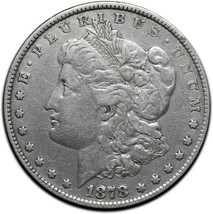 1878 MORGAN SILVER DOLLAR COIN Lot # A 573 image 1