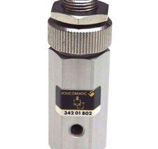 NEW ASCO JOUCOMATIC 34201802 MICRO 10 PRESSURE REGULATOR 0.2-8 BAR image 4