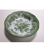 "Enoch Wedgwood Tunstall Green Multicolor Kent Fruit Dessert Bowl s 5"" - $10.87"