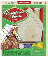 MasterPieces Works of Ahhh Holiday Gingerbread House Real Wood Acrylic P... - $15.42