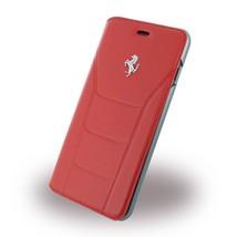 Ferrari 458 Red Real Genuine Leather Booktype Folio Case for iPhone 6 Plus - $49.47