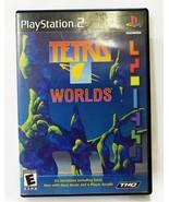 PLAYSTATION 2 Tetris Worlds ps2 Jahr 2001 Spiel - $7.91