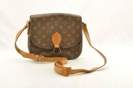 LOUIS VUITTON Monogram Saint Cloud GM Shoulder Bag M51242 Auth 9271 **St... - $398.00