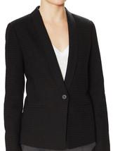 Vince Shawl Lapel Textured Lined Tuxedo Blazer Jacket Black 8 Nwt $445 - $142.49