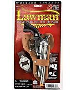 Big Game Toys~Prop Sheriff Toy Cap Gun-Lawman-die-cast-Pistol-Cowboy-Wes... - $23.43