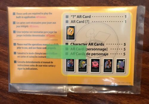 Nintendo 3DS AR cards launch console pack
