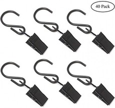 Coideal 40 Pack Lighted Photo Clips String Lights With Hanging Hook, Met... - $27.89