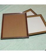 """FRAMES 1 gold/brown 2 gold/black 9.25 X 11,75"""" outside dimensions (Nclst A) - $16.83"""