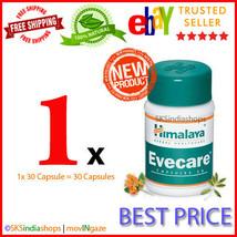 1x Himalaya Herbal Evecare 30 Capsules Pack of 1x30 - $5.52