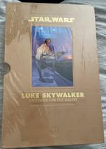 Star Wars Luke Skywalker Last Hope For The Galaxy Dark Horse Books 2008 Leather - $99.99