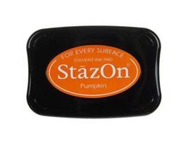 Stazon Full Size Ink Pad, Pumpkin