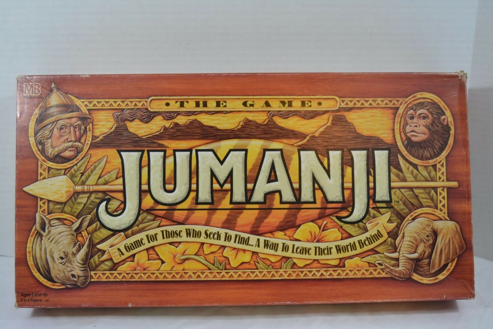 Primary image for JUMANJI THE GAME By Milton Bradley #4407 (COMPLETE)