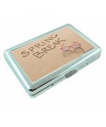 Spring Break D3 Silver Metal Cigarette Case RFID Protection Wallet - $11.83