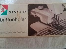 Singer Buttonholer-RARE VINTAGE-SHIPS Same Business Day - $110.78