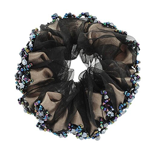 Primary image for Fashionable Elegant Elastics Ponytail Holder Hair Rope/Ties Scrunchie Black