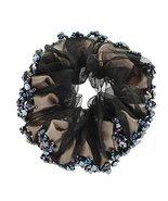 Fashionable Elegant Elastics Ponytail Holder Hair Rope/Ties Scrunchie Black - $10.31
