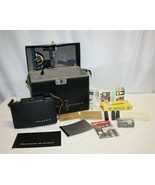 Vintage Polaroid 100 Land Camera with Case and Accesssories UNTESTED - $24.74