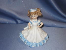 Caring Nurse - Handpainted Figurine by Lefton. - $15.00