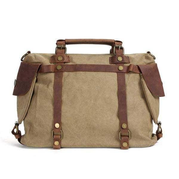 On Sale, Canvas With Leather Bag, Leather Briefcase, Messenger Bag, Shoulder Bag