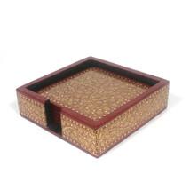 Handmade Crafted Antique Decorative Tea/Coffee Mug Coasters with Fine Go... - $702,21 MXN