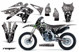 Dirt Bike Graphics Kit Decal MX Wrap For Kawasaki KX250F 2013-2016 REAPE... - $168.25