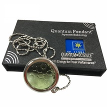 6000cc High Ion Bio Disc Quantum Pendant Scalar Energy with Stainless St... - $33.00