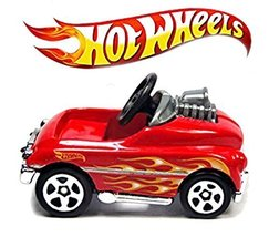 Hot Wheels 2015 HW City Pedal Driver 74/250, Red - $12.73