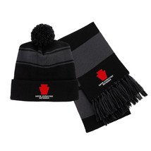 28th Infantry Division Embroidered Scarf & Pom Beanie Set - $39.99