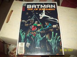 Batman: Day of Judgment #1 (Nov 1999, DC) - $4.00