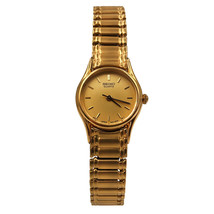 Seiko Expansion Bracelet Steel Champagne Dial Quartz Ladies Watch SXG238 - $169.00