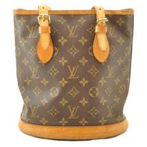 LOUIS VUITTON Monogram Bucket PM Shoulder Bag M42238 LV Auth 11122 **Sticky image 2