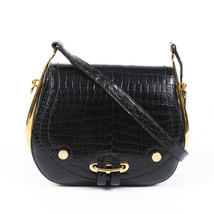 Vintage Hermes Passe Guide Porosus Crocodile Shoulder Bag - $13,510.00