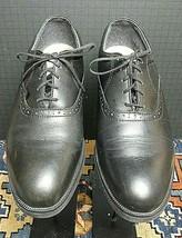 Vintage VTG Black Dunoon Red Wing USA Work Oxford Men's Sz. 8.5D Excellent! - $56.61