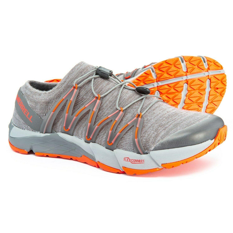 Merrell Bare Access Flex Knit Wool Trail Running Shoes Mens 14 US Dark Grey NEW