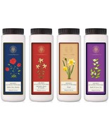 Forest Essential Dusting Powders 4 Variants 100 Gms Each - $26.97