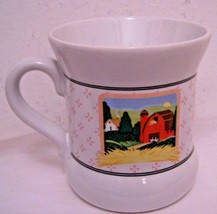 Mug Mugs Coffee Vandor Country Pelzman Designs Pigs  House Barn Ceramic ... - $9.89