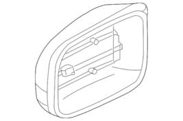 Genuine Mercedes-Benz Mirror Housing 220-810-01-64-9197 - $267.40
