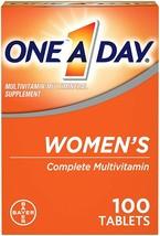 One a Day WOMENs FORMULA multivitamin Complete 100 tablets NIB 09/20 to 11/20 - $6.61