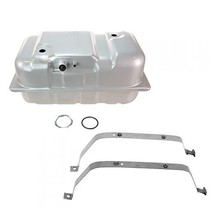 Fuel Gas Tank with Straps Set Kit 18 Gallon for 87-92 Jeep Comanche - $189.86