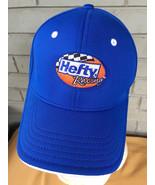 Hefty Racing Trash Bags S/M Stretch Blue Baseball Cap Hat - $10.90