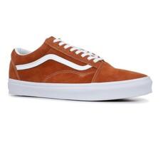 Vans Old Skool (Pig Suede) Leather Brown VN0A38G1U5K Mens Skate Shoes - $67.95