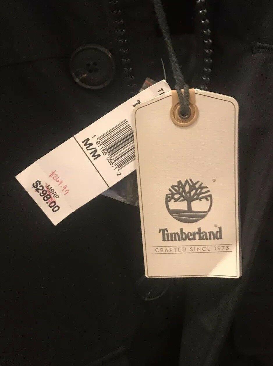 TIMBERLAND DRYVENT MEN'S WATERPROOF  DOWN JACKET. Size M. MSRP:$298.00 TBOA1NXE