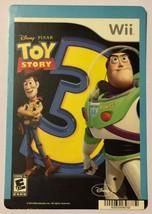 Nintendo Wii Toy Story 3 Blockbuster Artwork Display Card - $5.00