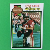 Steve DeBerg 1979 Topps Rookie Card #77 NFL San Francisco 49ers - $2.92